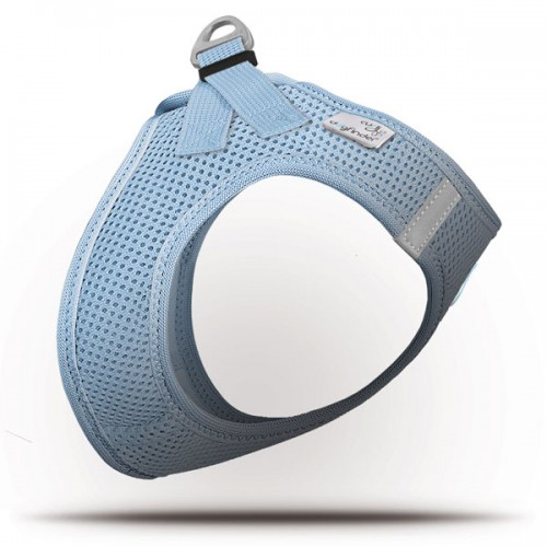 Vest harness air mesh blu