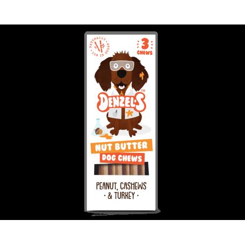 Denzel's Nut Butter dog chews