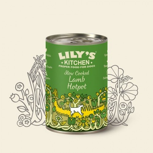 Lily's Kitchen Slow Cooked Lamb Hotpot for Dogs