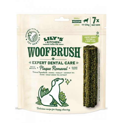 Woofbrush multipack x7