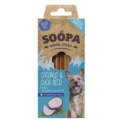 Dental Sticks Coconut & Chia seeds
