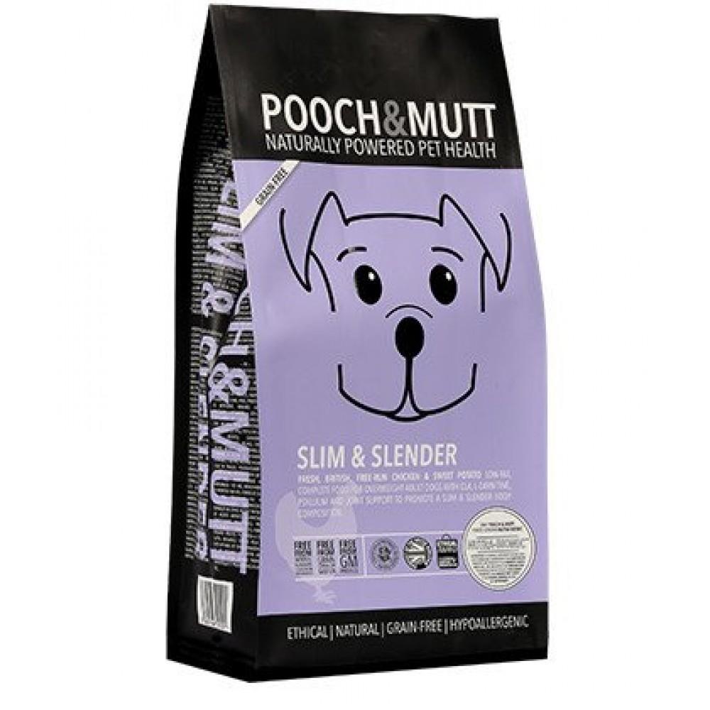 Pooch Mutt dog food Slim & Slender