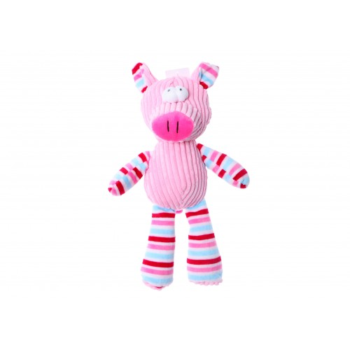 Plush Toy with Squeaker Pig 25 cm