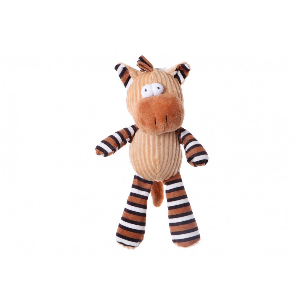 Plush Toy with Squeaker Horse 25 cm