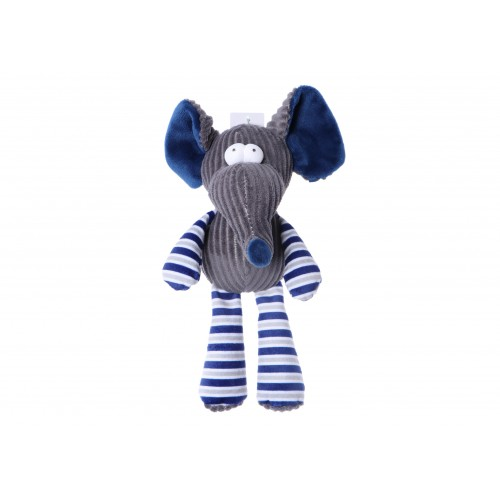 Plush Toy with Squeaker Elephant 25 cm