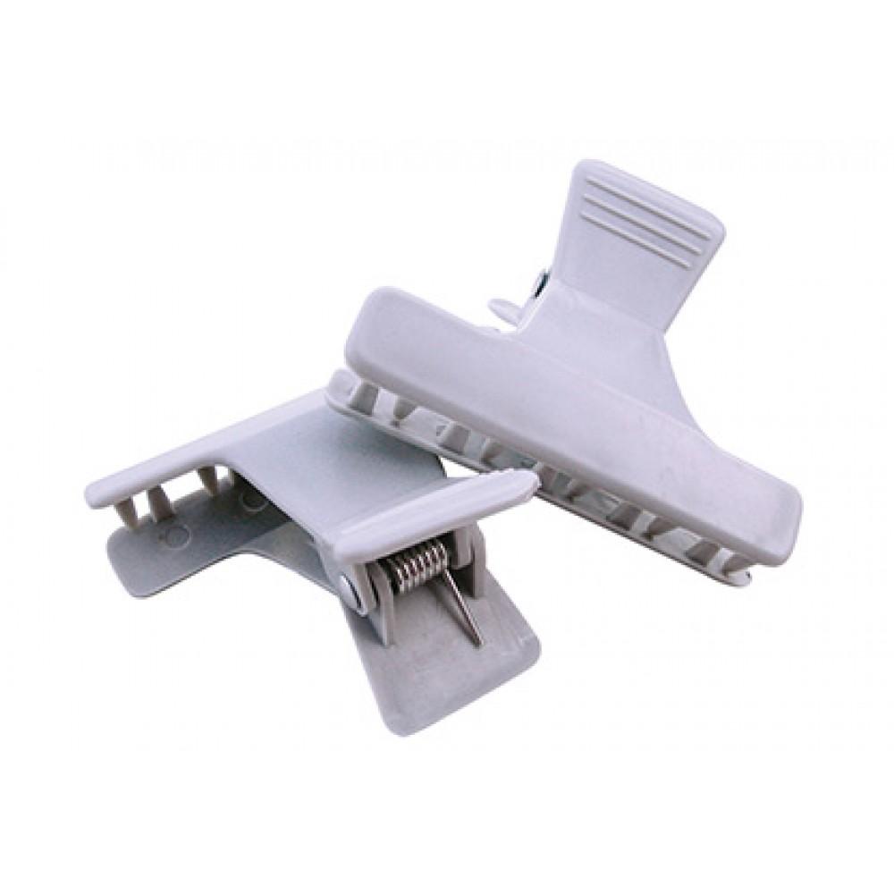 Plastic brushing clips 2 pcs