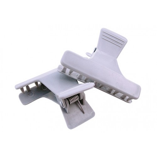 Plastic brushing clips 2 pcs