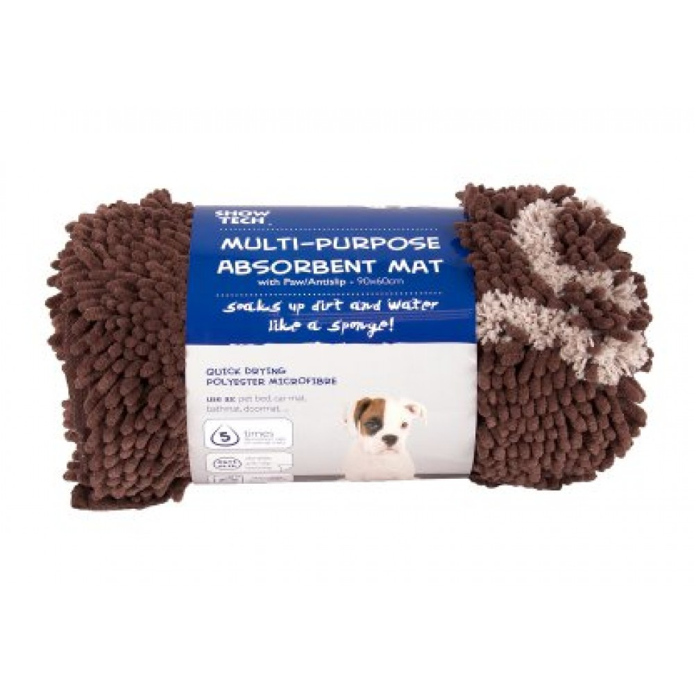 Multi purpose absorbent mat